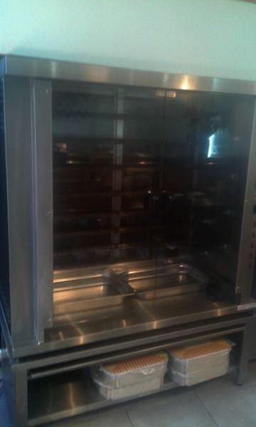 Εικόνα της Κοτοπουλιέρα Ηλεκτρική 9 σουβλών HK9 για 36-45 κοτόπουλα, North μεταχειρισμένη