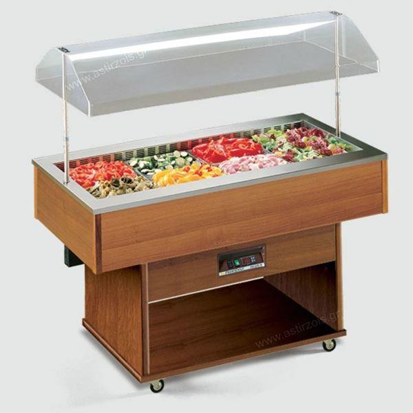 Εικόνα της Salad Bar – Μπουφές Delizie M, Ψυχόμενο