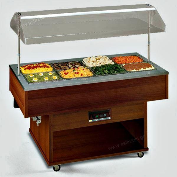 Εικόνα της Salad Bar – Μπουφές Delizie Μ BM Θερμαινόμενο