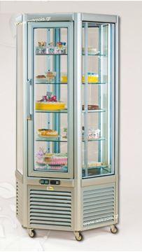 Εικόνα της Βιτρίνα Ζαχαροπλαστείου Frost Emily με 5 ράφια 70x61 cm, 570 lt