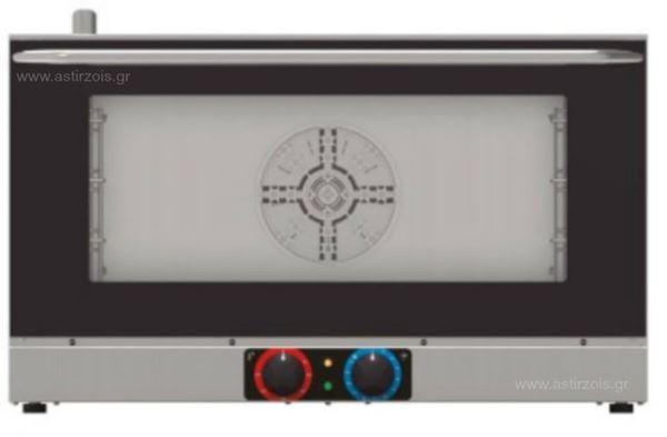 Εικόνα της Φούρνος Ηλεκτρικός Κυκλοθερμικός Tecnoinox Efs411b για 4 GN 1/1, 400 V