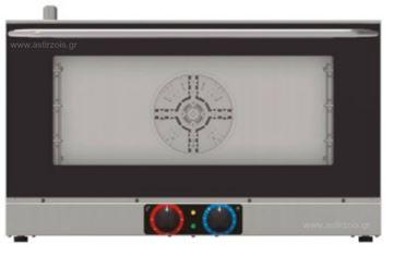 Εικόνα της Φούρνος Ηλεκτρικός Κυκλοθερμικός Tecnoinox Efs411b/1 για 4 GN 1/1, 230 V