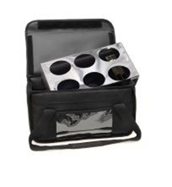 Εικόνα της Ισοθερμική τσάντα καφέ, 6 θέσεων