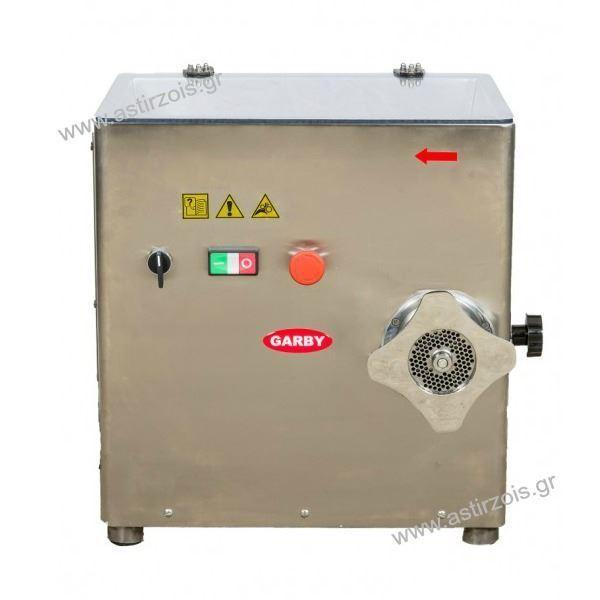 Εικόνα της Κρεατομηχανή γωνιακή, 22άρα, 2 hp 400 V, για 180 kgr/h