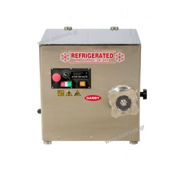 Εικόνα της Κρεατομηχανή ψυχώμενη γωνιακή, 22άρα, 2 hp 400 V, για 180 kgr/h