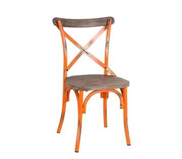 Εικόνα της Καρέκλα Destiny Wood, Antique Orange Ε5189,90