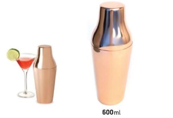 Εικόνα της Σέικερ copper Parisiene 2 τμημάτων