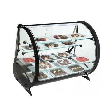 Εικόνα της Ψυγείο Βιτρίνα Ζαχαροπλαστείου με εφύγρανση Vela, με 5 ράφια
