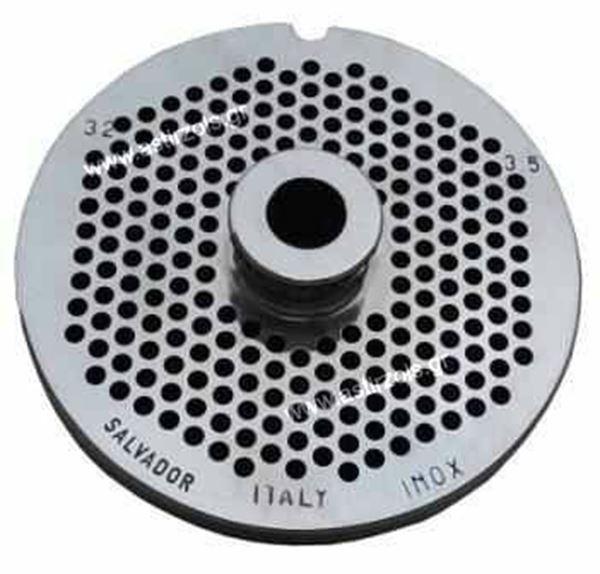 Εικόνα της Πλάκα- Σίτα κρεατομηχανής No 22/3,5 mm , Salvador