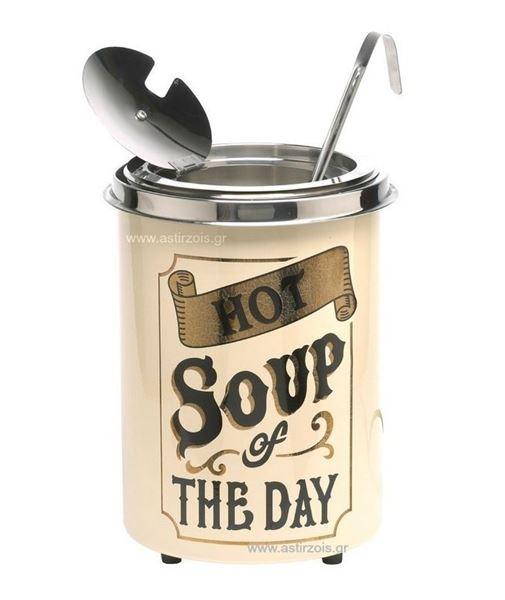 """Εικόνα της Σουπιέρα Hot Pot """"Hot Soup of the Day"""", 5 lt"""