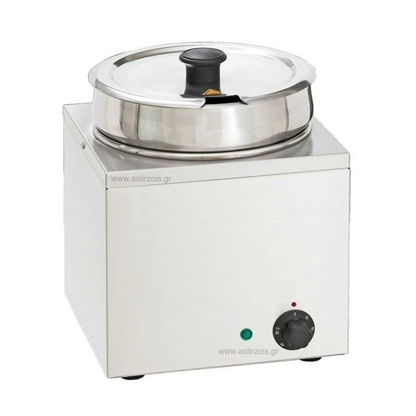 Εικόνα της Μπαιν Μαρί- Σουπιέρα Hot Pot Επιτραπέζιο Μονό, με 1 κάδο 6,5 lt