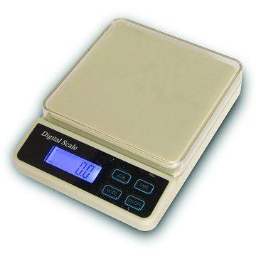 Εικόνα της Ζυγός Ακριβείας ηλεκτρονικός με μπαταρία HC2 300 gr- 600 gr