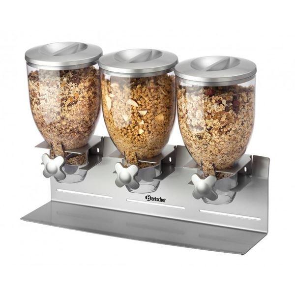 Εικόνα της Διανεμητής δημητριακών τριπλός επιτραπέζιος, Bartscher