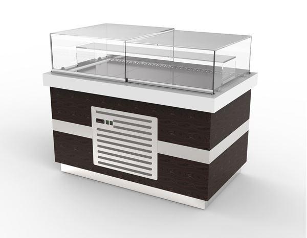 """Εικόνα της Ψυγείο βιτρίνα Ζαχαροπλαστείου """"Αριάδνη"""", 150 cm"""