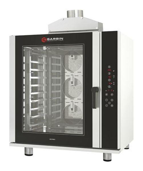 Εικόνα της Φούρνος Υγραερίου Κυκλοθερμικός με ψηφιακό control Garbin Pro Gas 12D, για 12 GN 1/1
