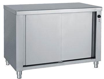 Εικόνα της Ερμάριο θερμαινόμενο με συρόμενες πόρτες 120x70x85 cm