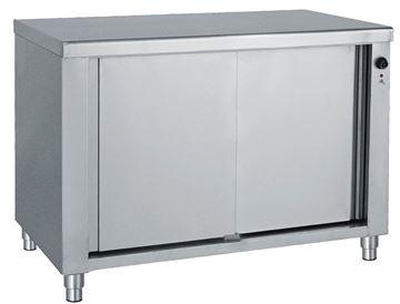 Εικόνα της Ερμάριο θερμαινόμενο με συρόμενες πόρτεςα 140x70x85 cm
