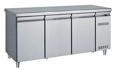 Εικόνα της Ψυγείο Πάγκος Με 3 Πόρτες GN Χωρίς Ψυκτικό Μηχάνημα 1.70 m