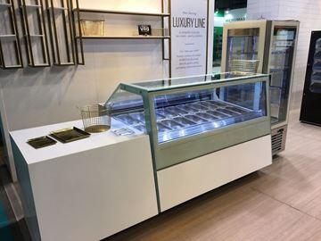 Εικόνα της Βιτρίνα Παγωτού VG-175-9, για 18 γεύσεις παγωτού