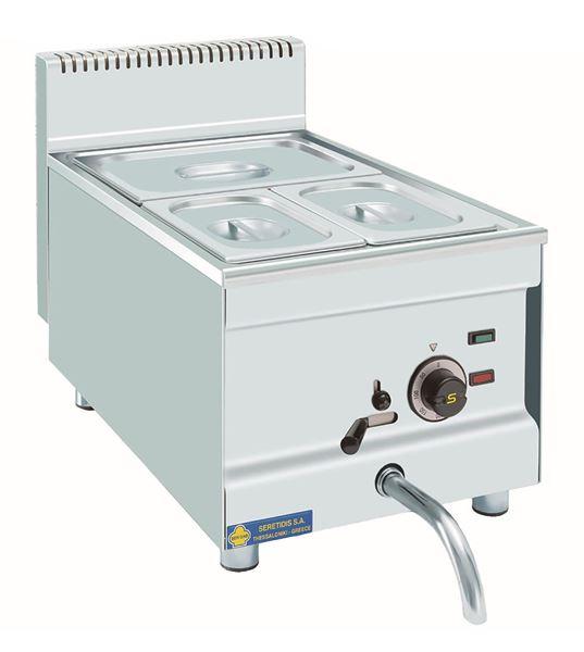 Εικόνα της Μπαιν Μαρί Ηλεκτρικό Επιτραπέζιο, για 3 GN 1/3 SER GAS