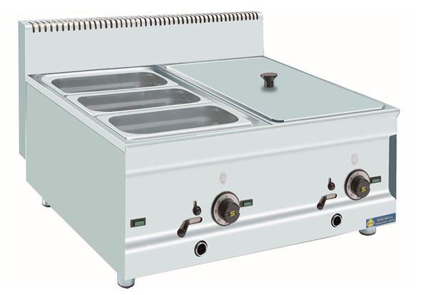 Εικόνα της Μπαιν Μαρί Ηλεκτρικό Επιτραπέζιο, για 3 GN 1/3 και 1 GN 1/ 1 SER GAS