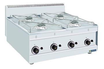 Εικόνα της Εστία Αερίου με 4 εστίες, GT4 SER GAS