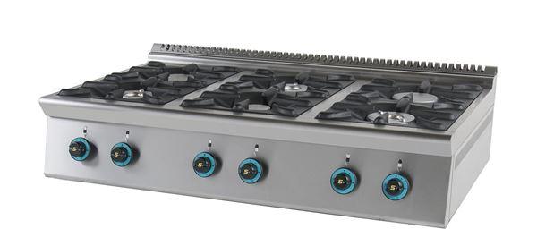 Εικόνα της Εστία Αερίου με 6 εστίες, σειρά 750, FC6S7 SER GAS
