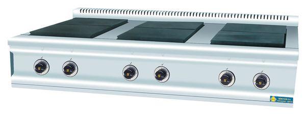 Εικόνα της Εστία Ηλεκτρική με 6 εστίες, σειρά 900, FC6E SER GAS