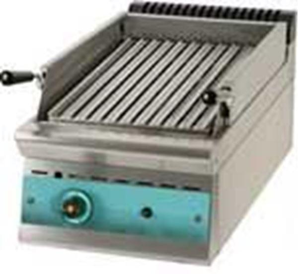 Εικόνα της Γκριλ Αερίου Επιτραπέζιο με πέτρα λάβας, σειρά 900, GR4S9 SER GAS