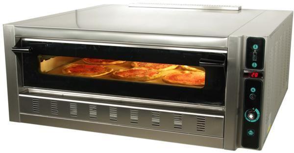 Εικόνα της Φούρνος Πίτσας Αερίου FG4, 1 όροφος για 4 πίτσες φ 30 cm, Ser Gas