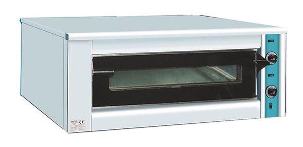 Εικόνα της Φούρνος Πίτσας Ηλεκτρικός K120, 1 όροφος για 9 πίτσες φ 30 cm, Ser Gas