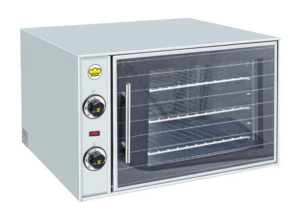 Εικόνα της Φούρνος Ηλεκτρικός Κυκλοθερμικός για 3 GN 1/2, F55 Ser Gas