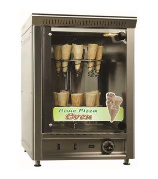 Εικόνα της Φούρνος Ηλεκτρικός Κυκλοθερμικός με περιστρεφόμενες βάσεις για πίτσα, FEP Ser Gas