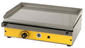 Εικόνα της Πλατώ Αερίου επιτραπέζιο, με λεία πλάκα ανοξείδωτη 38x59,5 cm, P60 Ser Gas
