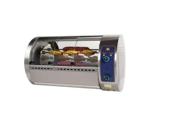 Εικόνα της Κοτοπουλιέρα Αερίου Περιστροφική 5 σουβλών T30GP, για 25 κοτόπουλα SER GAS