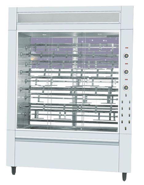 Εικόνα της Κοτοπουλιέρα Ηλεκτρική 9 σουβλών S9, για 54- 63 κοτόπουλα SER GAS