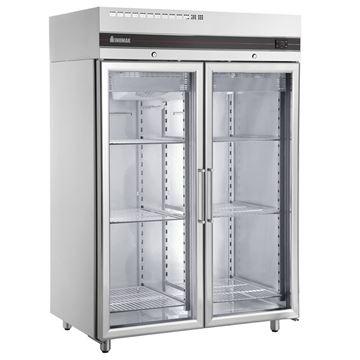 Εικόνα της Ψυγείο Θάλαμος Βιτρίνα Συντήρηση με 2 Πόρτες και Ψυκτικό Μηχάνημα, CES2144/GL INOMAK