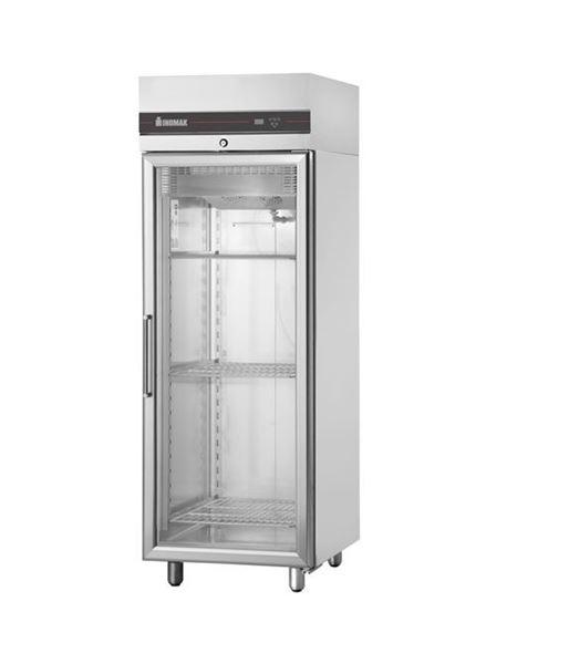 Εικόνα της Ψυγείο Θάλαμος Βιτρίνα Κατάψυξη με 1 Πόρτα και Ψυκτικό Μηχάνημα,CBP172/GL INOMAK