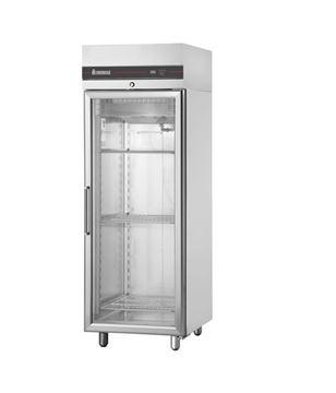 Εικόνα της Ψυγείο Θάλαμος Βιτρίνα Συντήρηση με 1 Πόρτα και Ψυκτικό Μηχάνημα, CAS172/GL INOMAK
