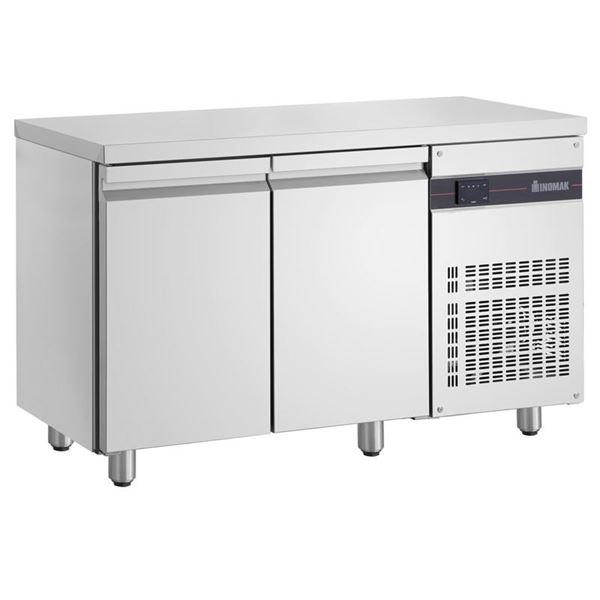 Εικόνα της Ψυγείο Πάγκος Συντήρηση με 2 πόρτες GN και Ψυκτικό Μηχάνημα, PNN99 INOMAK
