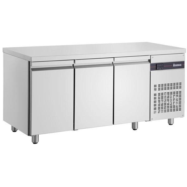 Εικόνα της Ψυγείο Πάγκος Συντήρηση με 3 πόρτες GN και Ψυκτικό Μηχάνημα, PNN999 INOMAK