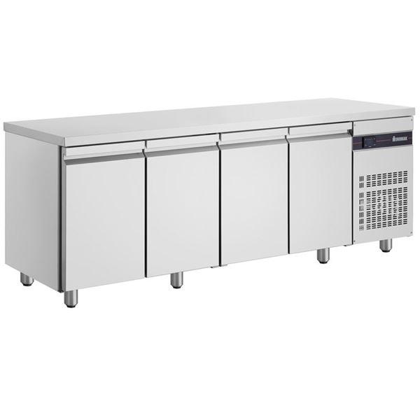Εικόνα της Ψυγείο Πάγκος Συντήρηση με 4 πόρτες GN και Ψυκτικό Μηχάνημα, PMN9999 INOMAK