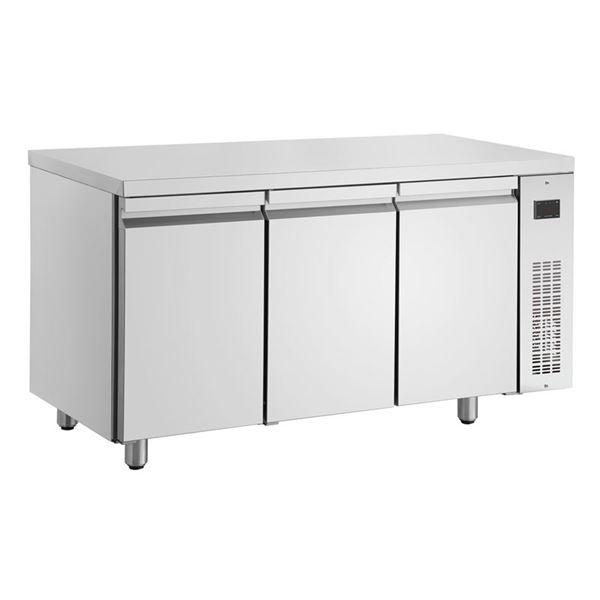 Εικόνα της Ψυγείο Πάγκος Συντήρηση με 3 πόρτες GN χωρίς Ψυκτικό Μηχάνημα, PNN999/RU INOMAK