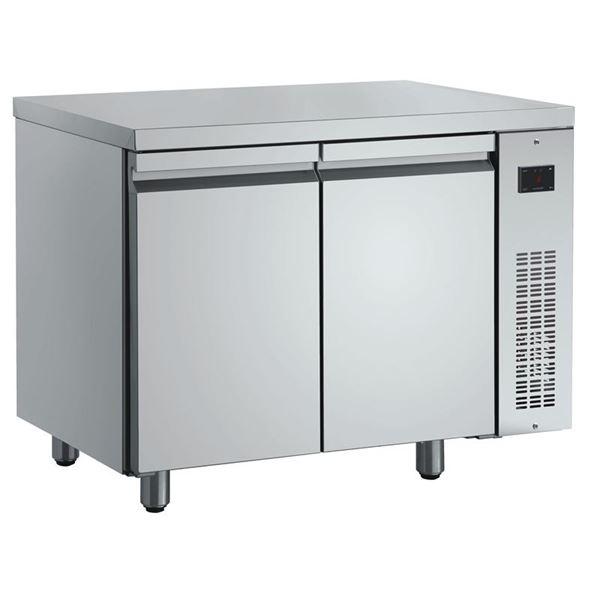 Εικόνα της Ψυγείο Πάγκος Συντήρηση με 2 πόρτες GN χωρίς Ψυκτικό Μηχάνημα, PMN99/RU INOMAK