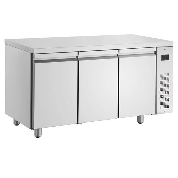 Εικόνα της Ψυγείο Πάγκος Συντήρηση με 3 πόρτες GN χωρίς Ψυκτικό Μηχάνημα, PMN999/RU INOMAK