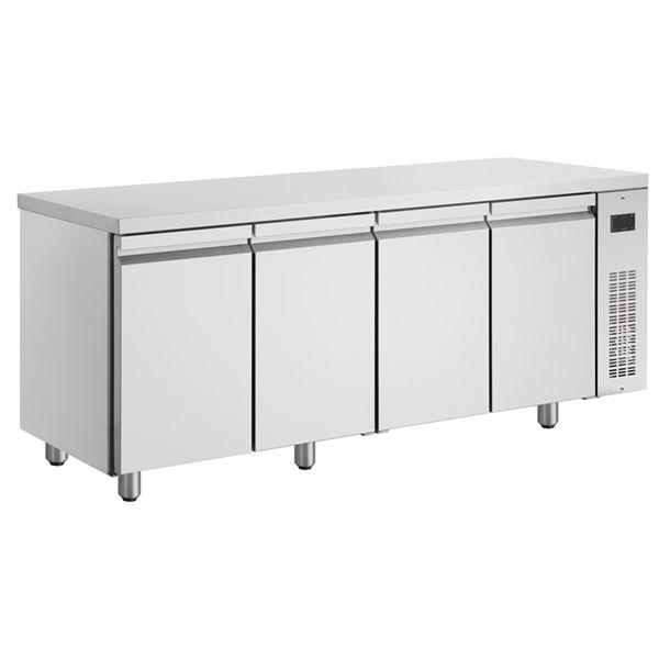 Εικόνα της Ψυγείο Πάγκος Συντήρηση με 4 πόρτες GN χωρίς Ψυκτικό Μηχάνημα, PMN9999/RU INOMAK