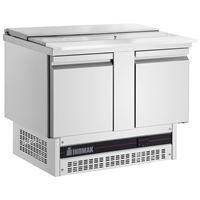 Εικόνα της Ψυγείο Σαλατών με καπάκι για 3 GN 1/1 με 2 πόρτες, BSV77 INOMAK