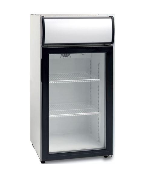 Εικόνα της Ψυγείο Βιτρίνα Συντήρηση Επιτραπέζια 80 lt, SC 81