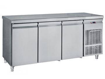 Εικόνα της Ψυγείο Πάγκος Συντήρηση με 3 πόρτες μεγάλες με ψυκτικό μηχάνημα 2.16 m