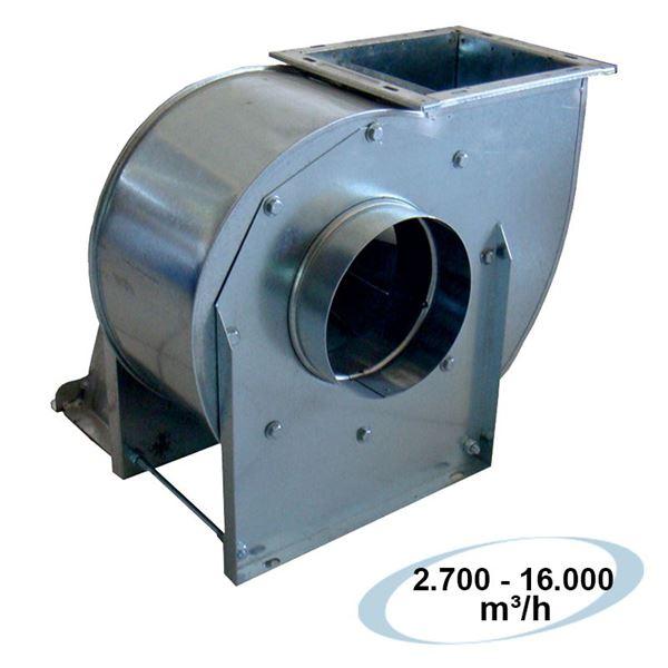 Εικόνα της Απορροφητήρας Φυγοκεντρικός Μονής Αναρρόφησης 1450 RPM 7,5HP – 400V